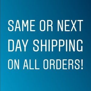 Guaranteed same or next day shipping on everything